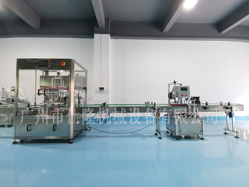 水剂灌装机生产线